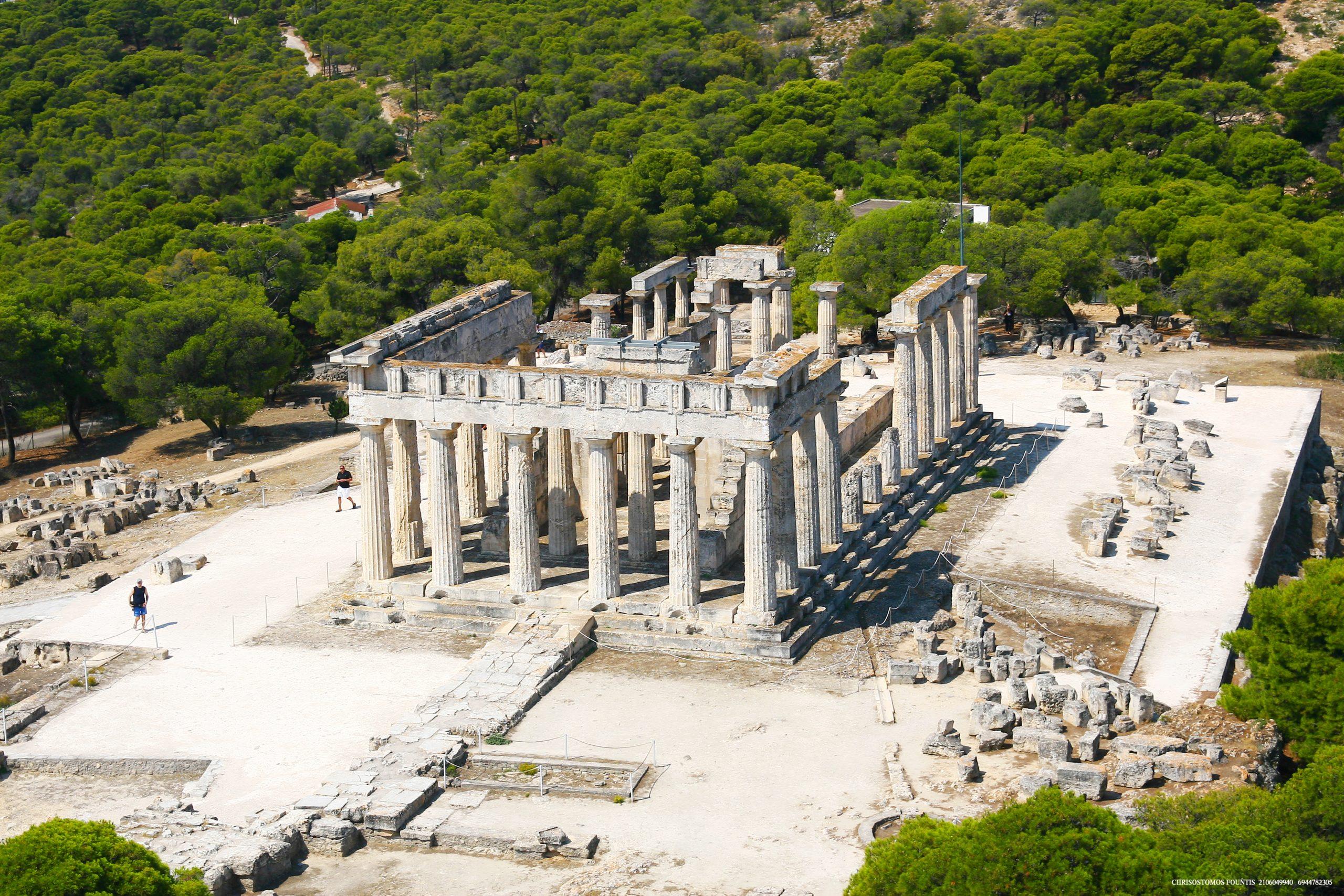 Ægina græsk tempel