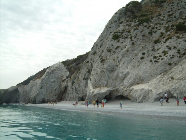 Lalaria strand Skiathos